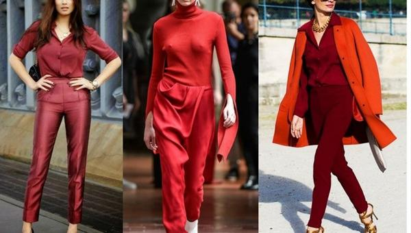 TREND ALERT: ALL RED
